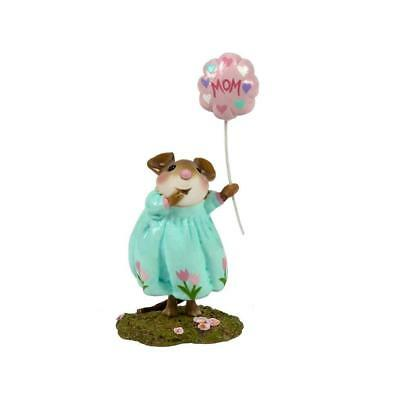 BEST MOM! (Girl) by Wee Forest Folk, WFF# M-561a, LTD Mother's Day Mouse 2018