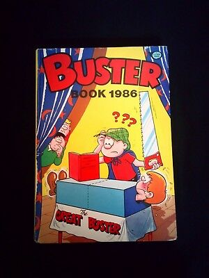 Buster Book 1986 Vintage Comic Annual