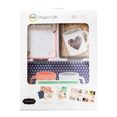 NEW Project Life Value Kit 80 pack Jen Hadfield DIY Home