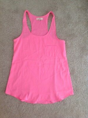 ac432d16eaec0a WOMENS BRIGHT PINK Top Size 10 From River Island - $1.31 | PicClick