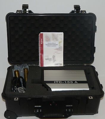 *NEW* Ametek Jofra ITC-155A Dry Block Calibrator ITC 155A w/ Insertion Tubes