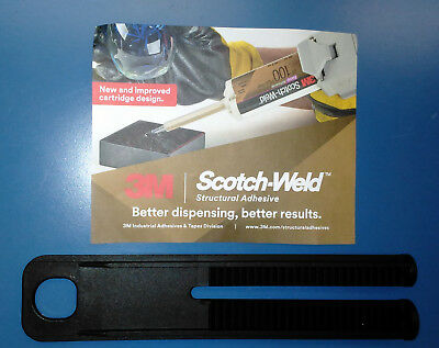 3M 1:1 & 2:1 (Combined) EPX 48.5 & 50 mL Plunger for Scotch-Weld Applicator, 1ea