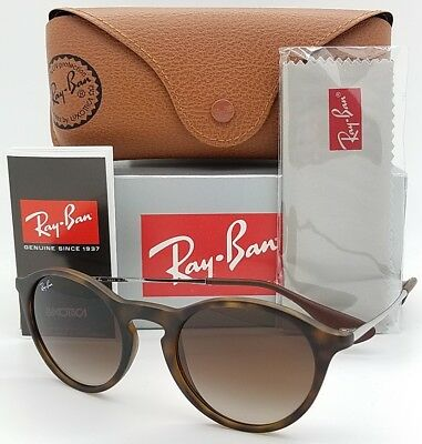 412542aad4 NEW Rayban sunglasses RB4243 865 13 49mm Tortoise Brown Gradient Round  GENUINE