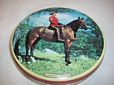 Riley Brothers Canadian Mountie tin Vintage