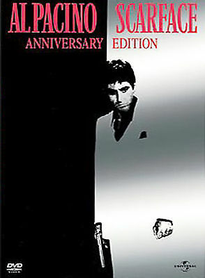 Scarface AL Pacino Two-Disc Anniversary Edition DVD Widescreen