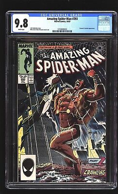 Amazing Spider-Man 293 CGC 9.8 NM/MINT Kraven Mike Zeck cover Marvel 1987