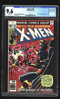 Uncany X-Men 106 CGC 9.6 NM+ Firelord Wolverine Dave Cockrum cover Marvel 1977