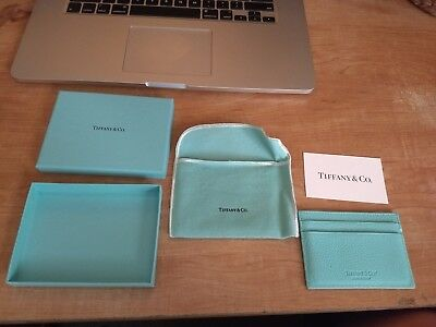 Tiffany & co leather business card case