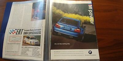 Bmw M Coupe E36 Magazine Articles Ads Clippings Collectible Advertising Lot