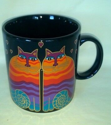 Laurel Burch Collectible Kitty Cat Mug Cup $7.95