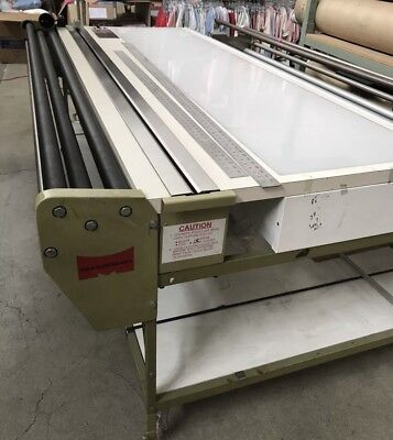"""Measuregraph Fabric Measuring and Inspecting System with light box used 72"""""""