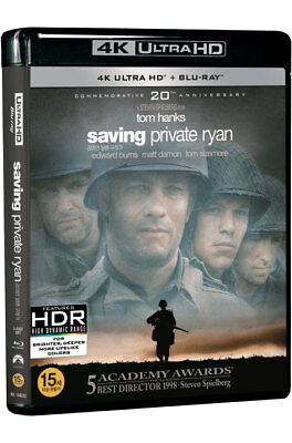 Saving Private Ryan (2018, Blu-ray + 4K UHD)