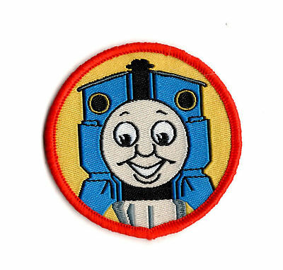 THOMAS THE TANK ENGINE RED Sew on Patch Embroidered Badge Cartoon Train TV PT7