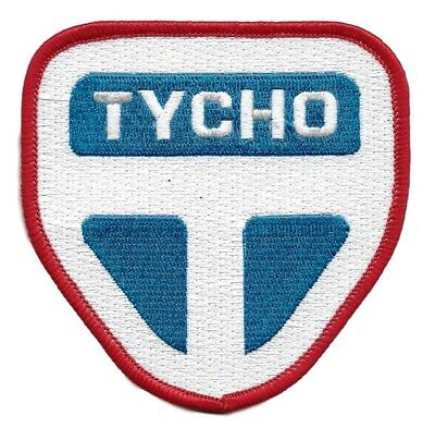 """The Expanse TV Series Tycho Manufacturing Logo 3 1/2"""" Tall Embroidered PATCH"""
