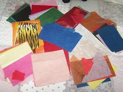 Bundle of Craft Rice Paper sheets