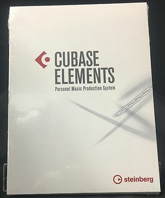 New Steinberg Cubase Elements 9.5 Recording Software DAW eDelivery EDU Academic