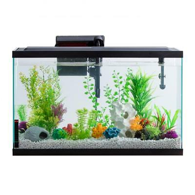 Aqua Culture Aquarium Starter Kit With LED 29-Gallon Natural Daylight LED Lights