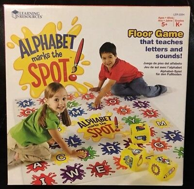 Mat The Spot Resources13 By Alphabet Learning 99 Floor Marks 1lcTJFK
