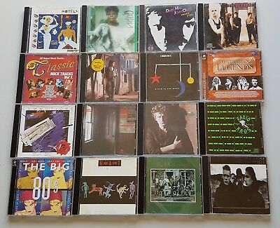 38 CDs from the 80's / DON HENLEY INXS MIDNIGHT OIL ICEHOUSE ROGER WATERS HEART