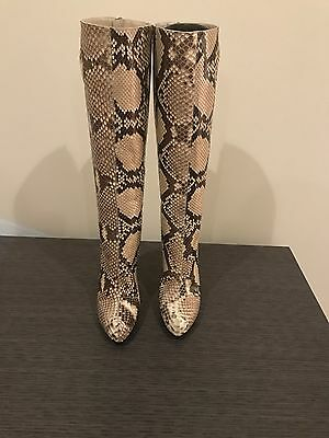 7b2fb4705dc Christian Louboutin Python Boots New Authentic Size 38