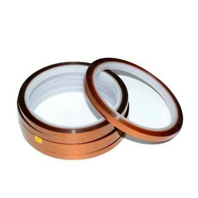 High Temperature Heat Resistant Tape for Sublimation Transfer Adhesive 5mm x 33m