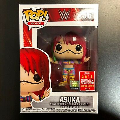 *IN HAND* Funko POP WWE Asuka SDCC 2018 Summer Convention Exclusive