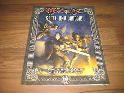 Midnight Steel and Shadow  Sourcebook 2005 Softcover FFG MN10 d20 TOP