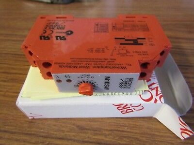Broyce OFF Delay Single Time Delay Relay 2-60min, SPDT, M1ESW 8A - A9 3005929
