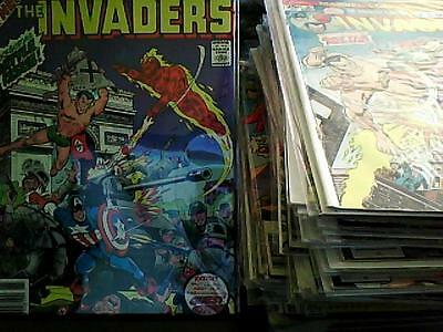 THE INVADERS # 1 - 41 KING SIZE # 1, GIANT-SIZE #1  Bronze Age  SET SALE