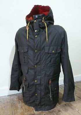 "Superb Barbour International "" Cavendish "" Mountain Parka Jacket - Small - £265"
