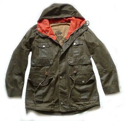 "Superb Barbour International "" Scafell "" Mountain Parka Jacket - Small - £265"