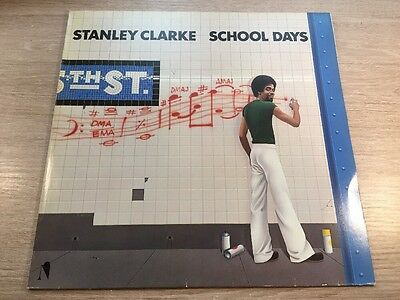 LP NE 50 296 Stanley Clarke ‎– School Days GERMAN VINYL 1976