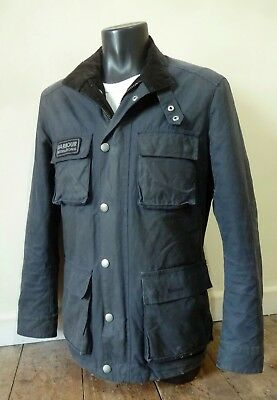 "Superb Barbour International Steve Mcqueen Wax "" Trophy "" Jacket   - Med - £225"