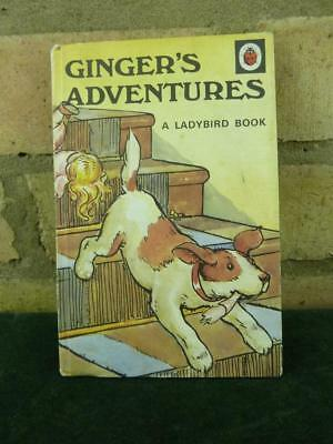 Vintage Ladybird book Ginger's Adventures series 401 price 40p in great contion