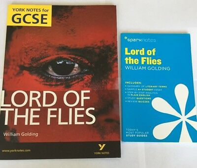 Lord Of The Flies Revision Guides (Yorknotes and Sparknotes)