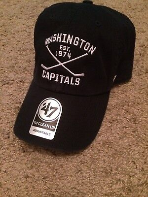 13dddf0d2 ... germany 47 brand washington capitals clean up adjustable hat b27e1 8f8aa