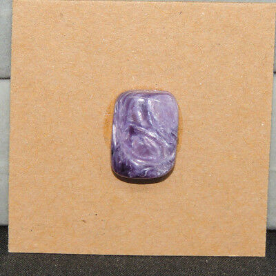 Charoite Cabochon 13.5x10.5mm with 5mm Dome from Russia (13892)
