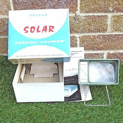 Photax Solar Colour Viewer - Boxed With Manual