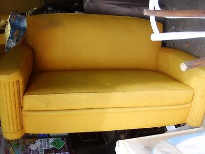 Vintage 1930's couch