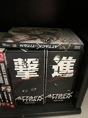 Attack on Titan Manga 1-11 in schuber