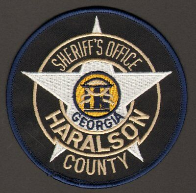 TRAIN! PEMBROKE POLICE State of GEORGIA GA Shoulder Patch