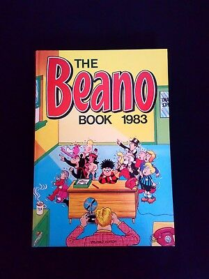 Beano Annual 1983 Vintage U.K Comic Hardback Near Mint Condition