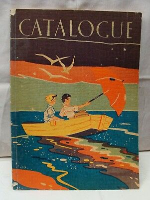 Original Vintage 1930 MILTON BRADLEY Catalog, Games, Paints, Puzzles