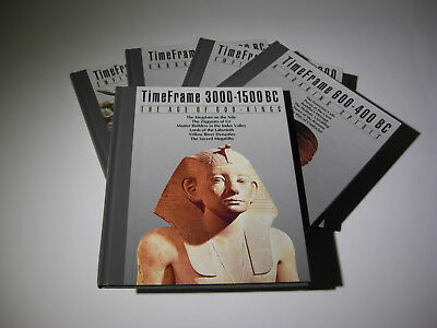 TIME-LIFE SERIES Time Frame - Lot Of 5 HB Books ~ 3000-1500 BC - 1500 - 600 BC