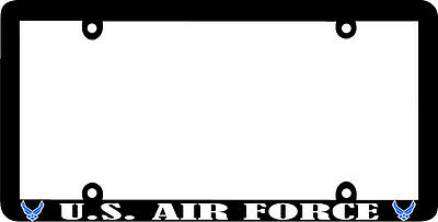 Thin frame  UNITED STATES AIR FORCE US U.S. AIR FORCE License Plate Frame