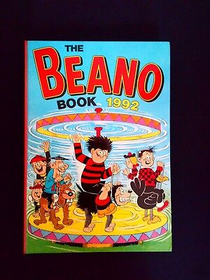 Beano Annual 1992 Vintage U.K Comic Hardback Near Mint Condition