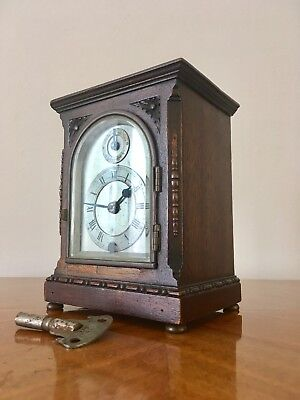 Mahogany Case mantle carriage Clock by Astral of Coventry, late 19th century