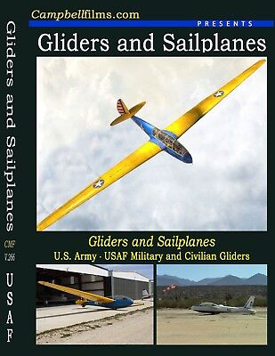 Gliders and Sailplanes - Old Historic Films USAF Civilian Mojave Desert