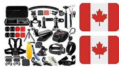Nudoland's Action Camera 50 in 1 Accessory Kit