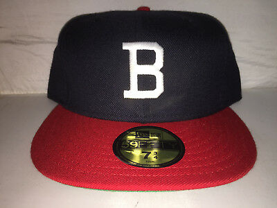 Vtg Boston Braves Fitted hat cap size 7 3 4 NEW ERA MLB Baseball cooperstown bc29fee9ac5